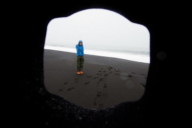 beach, frame