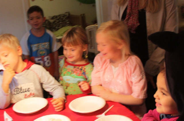 Anthea's birthday party