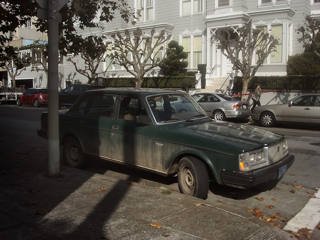 Dirty volvo, San Francisco