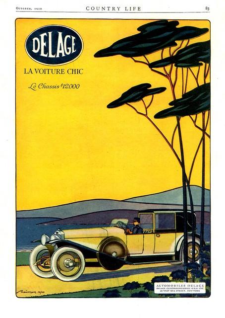 1920 Delage Cabriolet