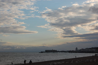 長さ 1289 メートルのビーチ Volímai 近く の画像. uk england pier hastings hastingspier hastingsbeach