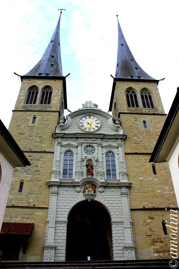 Hofkirche St. Leodegar, Lucerne
