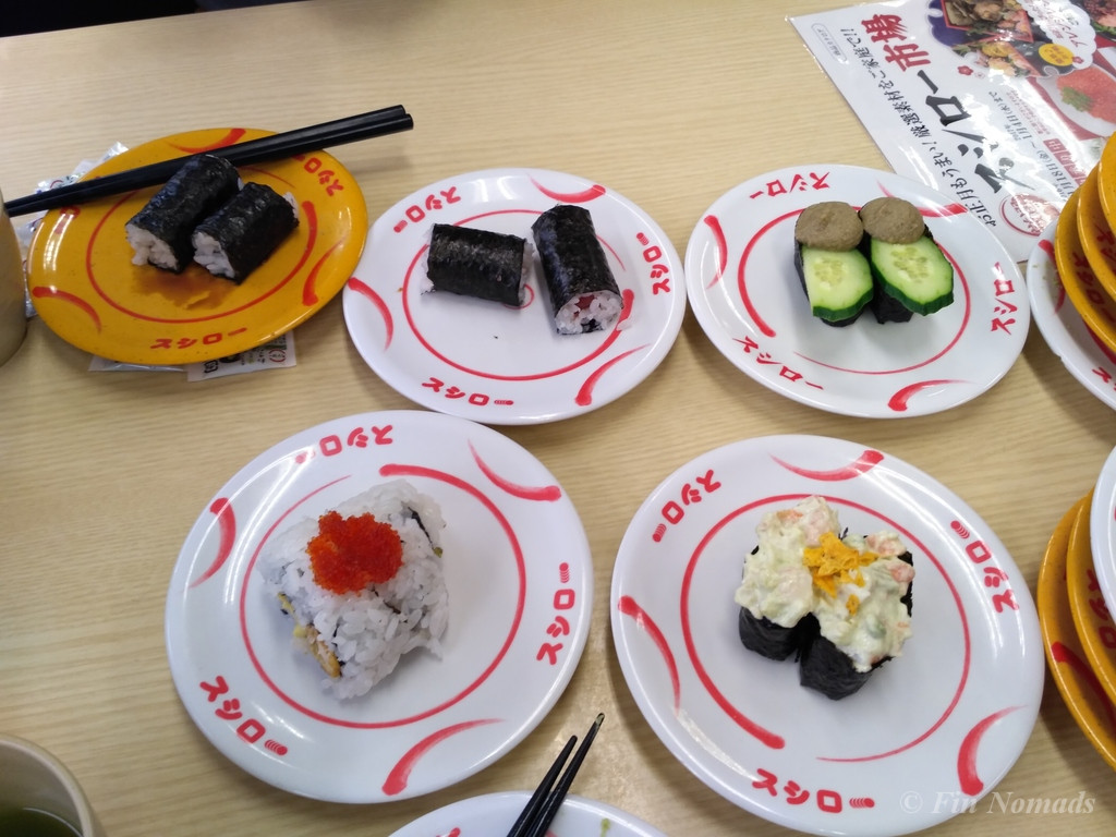 cheap belt sushi osaka
