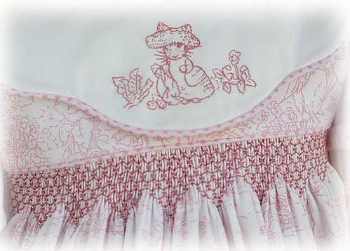 embroidery machine smocking