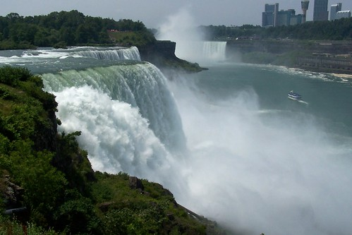 Niagara Falls -  American and Canadian