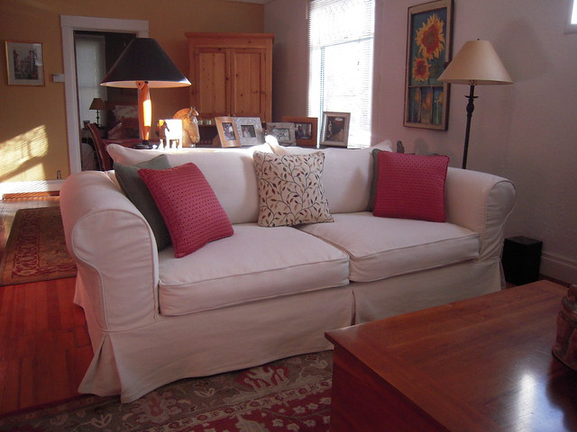 Shabby Chic Sofa Slipcover Flickr Photo Sharing