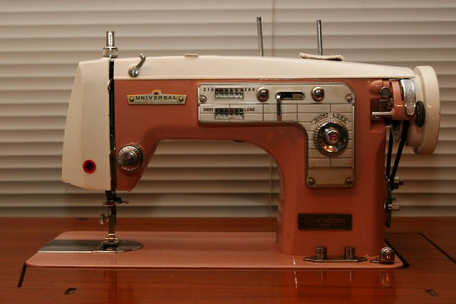 universal deluxe sewing machine manual