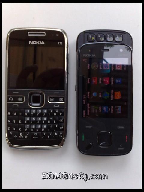Nokia n86 vs nokia e72 flickr photo sharing