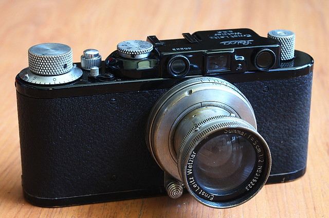 Leica II + Nickel Summar 50/2