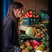 Ivana and veggie shop, Guatemala City