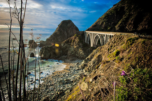 Big Sur highway bridge (Credit: tibchris on Flickr.com)