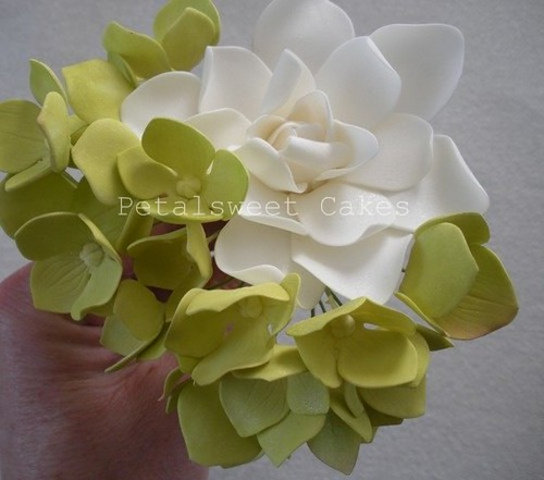 Hydrangea Tutorial Part Two by Petalsweet Cakes