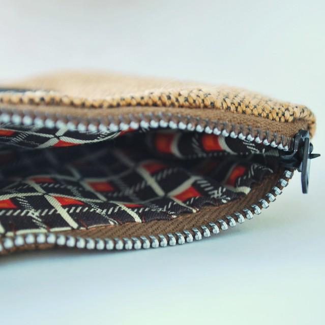 Inside a Zipper Pouch