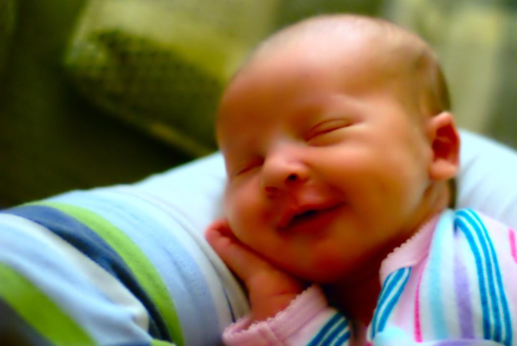 Smiling Mya