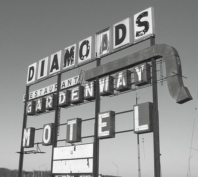 Gardenway Motel Sign - Route 66