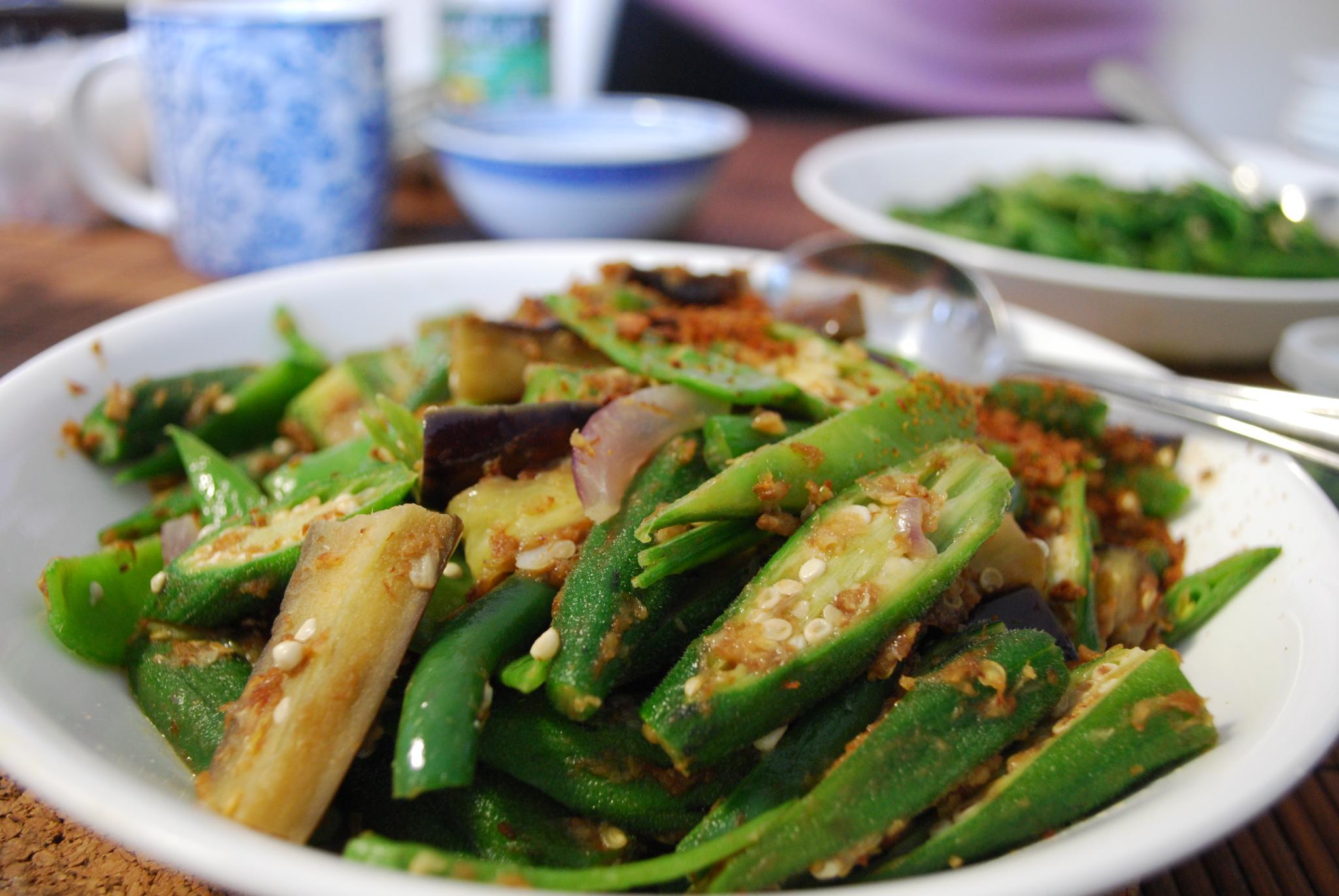Dry Beans-Brinjal Gravy