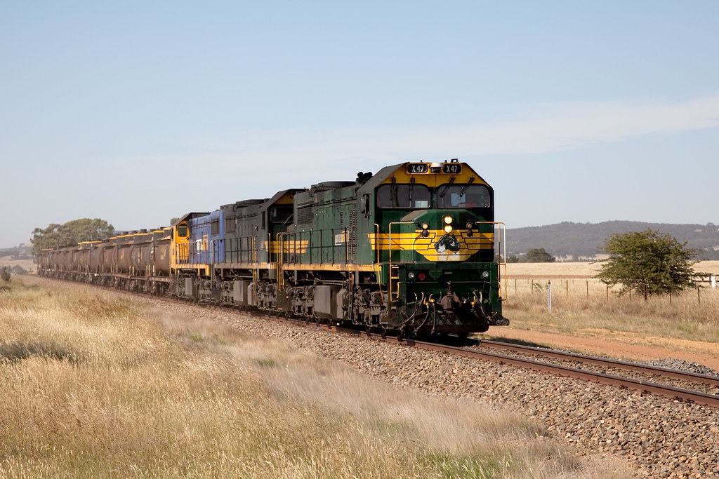 X47 near Bungendore on trial by Trent