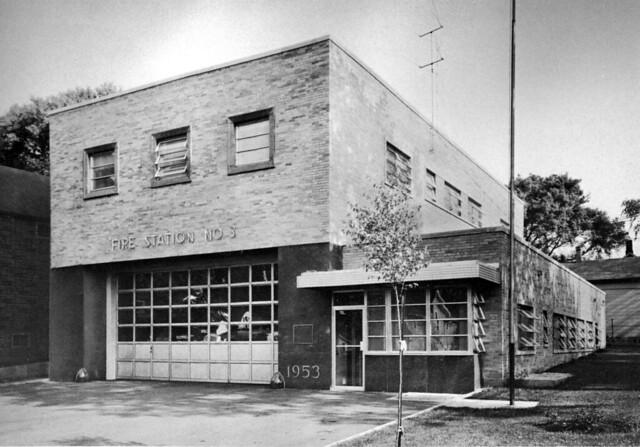 City Of Lansing Fire Station No 3 1953 Manson Jackson Kane Inc Flickr Photo Sharing