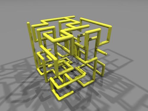 Connex labyrinth