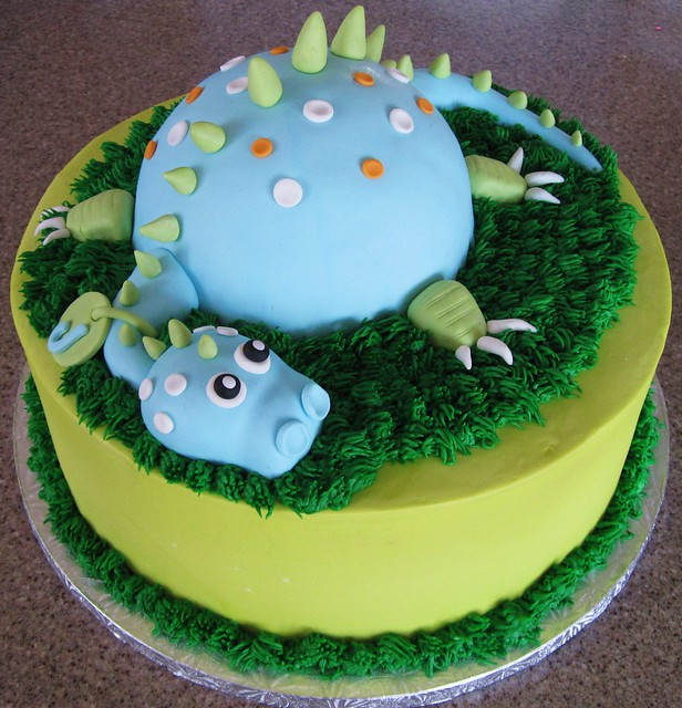 Dinosaur cake flickr photo sharing