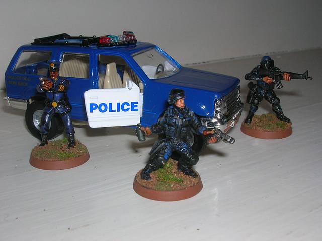 Rebased HeroClix Police