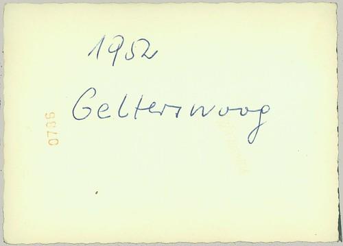 reverse of 1952 Gelterswoog