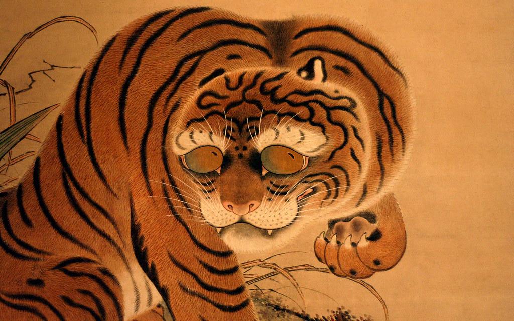 Japanese Tiger Wallpaper 1920 X 1200px A Japanese Tiger S Flickr