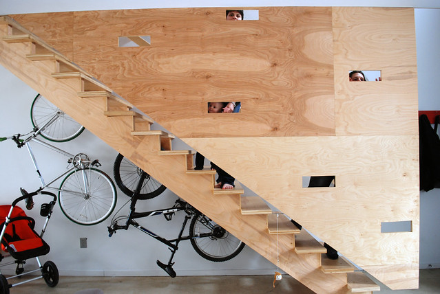 100k Stair Wall with Ludemans
