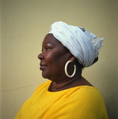 face, clothing, yellow, white, head, turban, portrait, headgear,