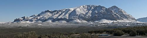 Panorama Bedmar nieve