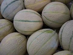 cantaloupe, honeydew, produce, fruit, food, muskmelon, melon,