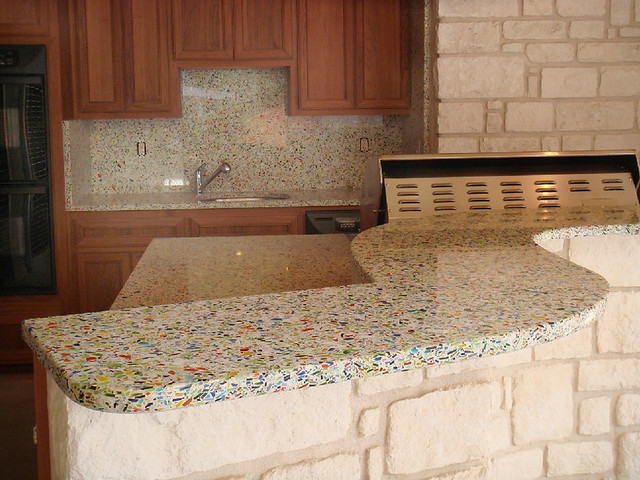 Countertop Alternatives : Vetrazzo alternative to granite countertops (157) Flickr - Photo ...