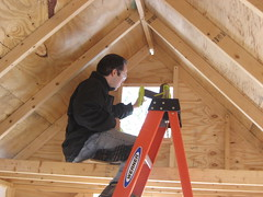 wall, attic, wood, roof, beam, hardwood, carpenter,