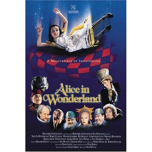 Alice In Wonderland Movie: Hallmark Alice In Wonderland 1999