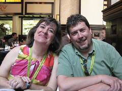 Sheila Scarborough and Rick Mahn