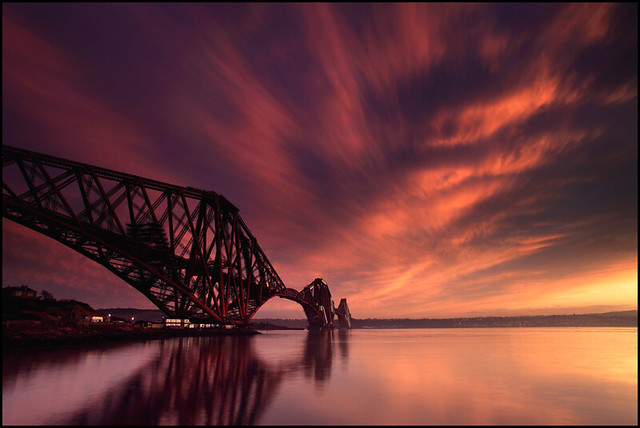 Forth Rail Bridge @ Sunset