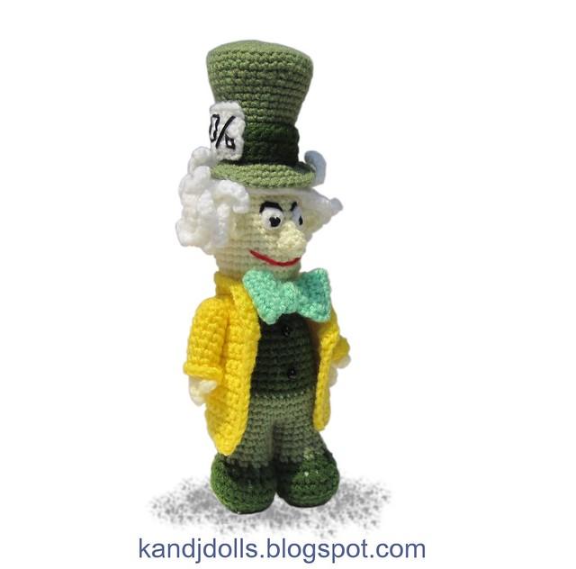 Mad Hatter Amigurumi : Mad Hatter Amigurumi doll crochet pattern Flickr - Photo ...