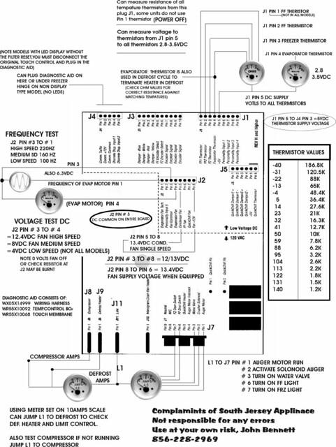 ge refrigerator muthaboard tech u0026 39 s cheat sheet