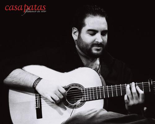 Pino Losada acompañará a la guitarra. Foto: Martín Guerrero