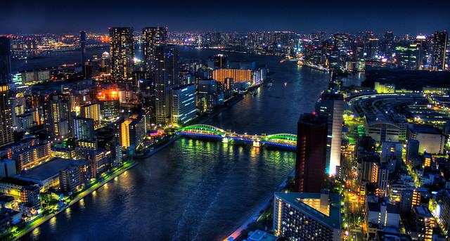 Tokyo - Magic Water City [Explored]