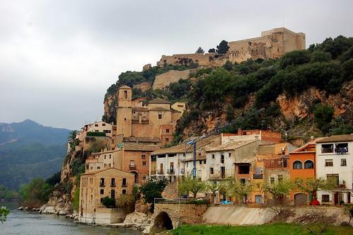 Miravet, Ribera d'Ebre, Tarragona.