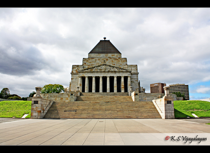 Shrine of Remembrance @ Melbourne