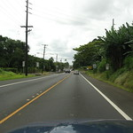 Approaching Hilo, Hawaii