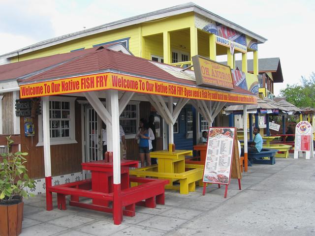 Bahamas vacation fish fry flickr photo sharing for Fish fry bahamas