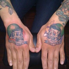 The world 39 s best photos of kaptenhanna and tattoo flickr for World in hands tattoo
