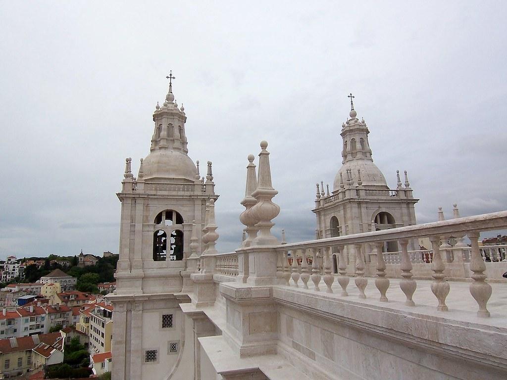 San Vicente de Fora desde su terraza. Lisboa