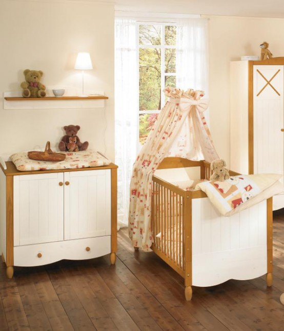 white and wood baby nursery furniture sets by paidi 36