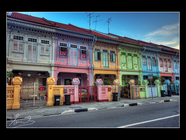 Peranakan Houses Koon Seng Road Singapore Flickr