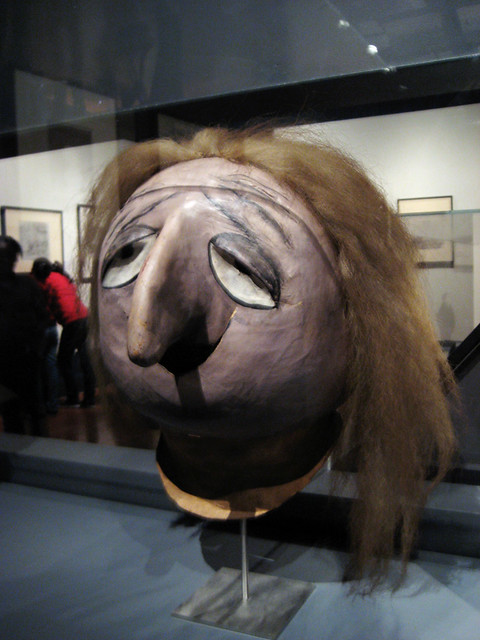 Grand Mama Mask from the Addams Family 1179