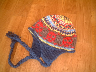 cheery scrap hat